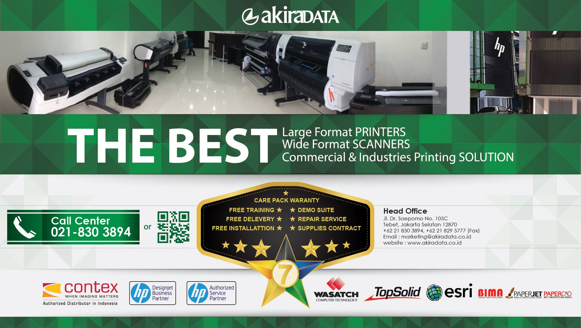 The Best Service PT. Akira data Pratama