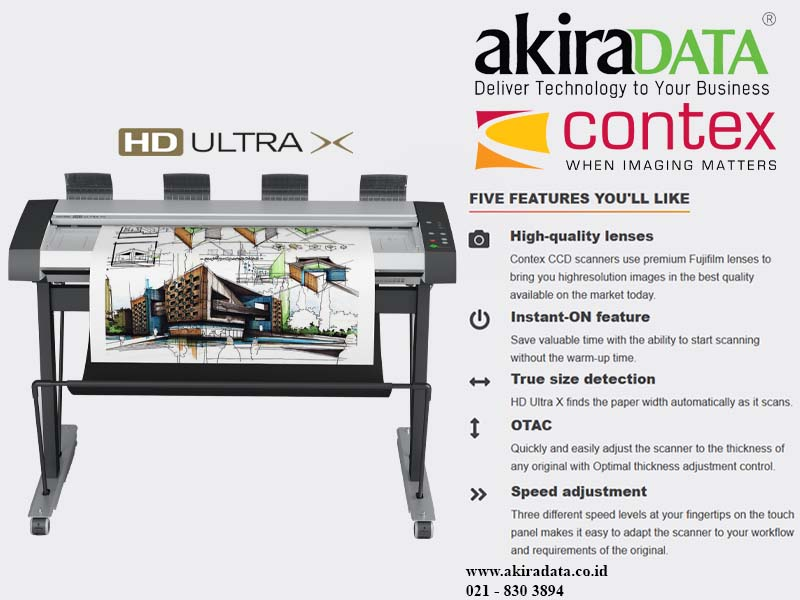 Jual Scanner Contex HD Ultra X 3690