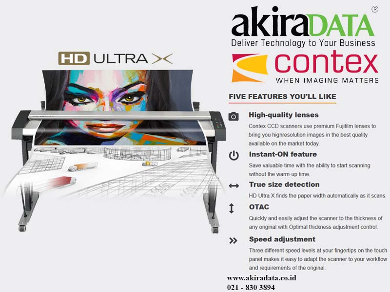 Scanner Contex HD Ultra X 6090