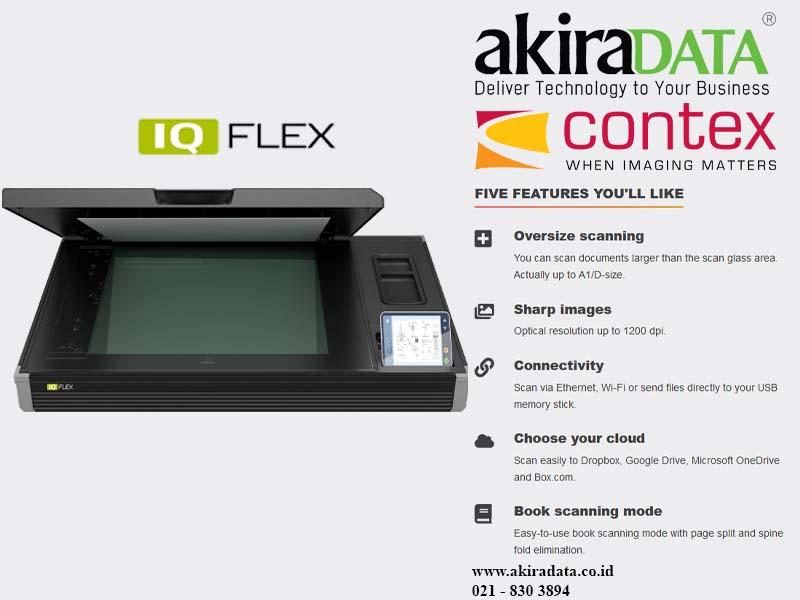 Scanner Flatbed Contex IQ Flex